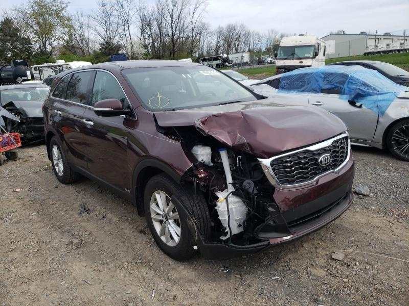 Salvage cars for sale from Copart Pennsburg, PA: 2020 KIA Sorento L