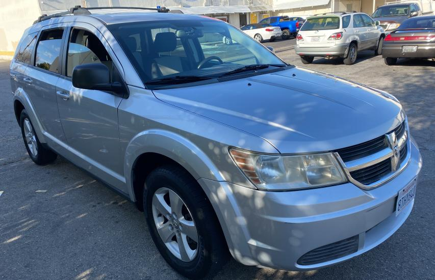 Salvage cars for sale from Copart Sun Valley, CA: 2009 Dodge Journey SX