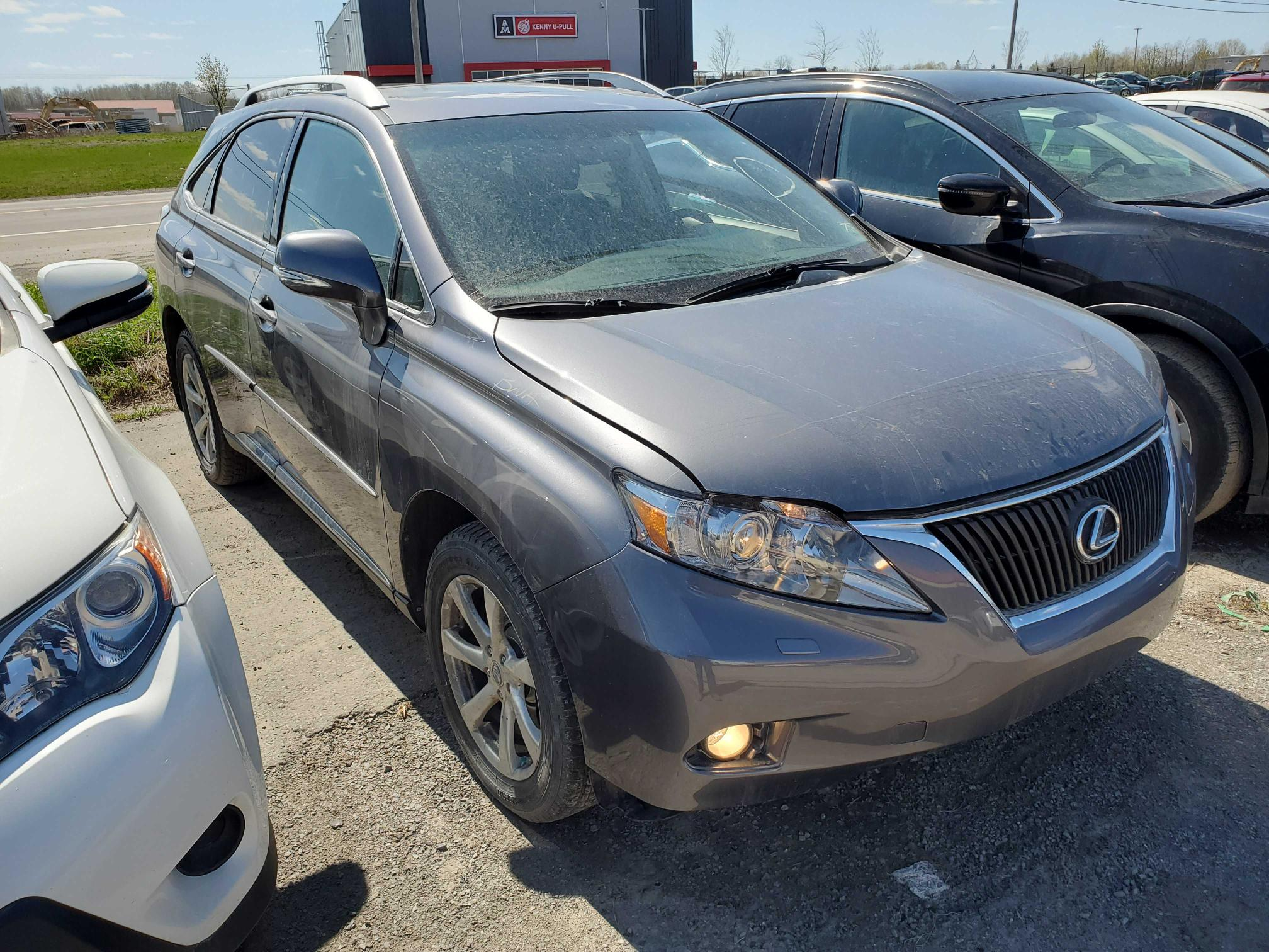 Salvage cars for sale from Copart Montreal Est, QC: 2012 Lexus RX 350