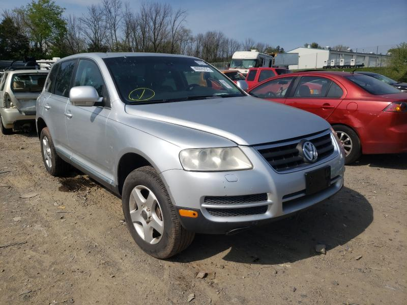 Salvage cars for sale from Copart Pennsburg, PA: 2006 Volkswagen Touareg 3