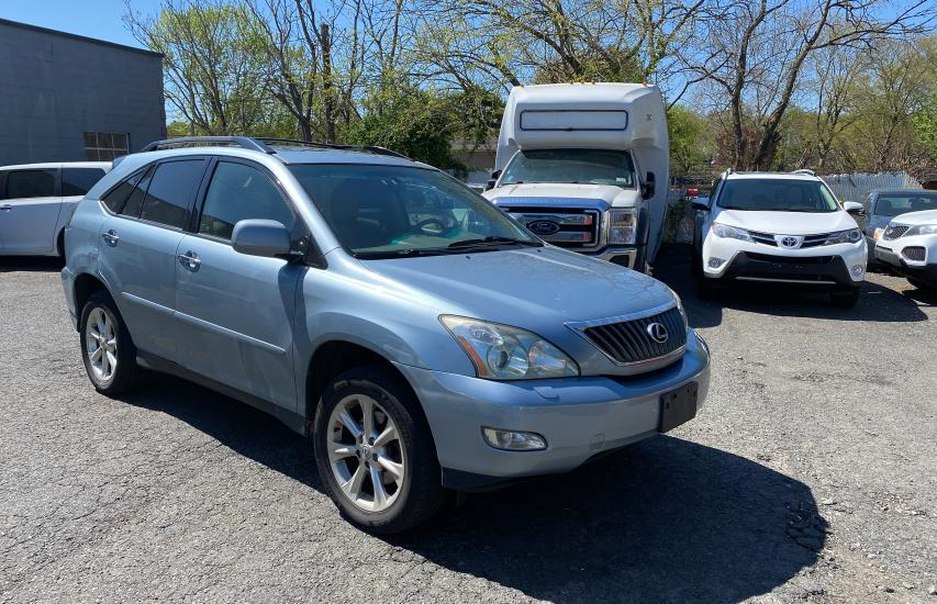 Salvage cars for sale from Copart Windsor, NJ: 2009 Lexus RX 350