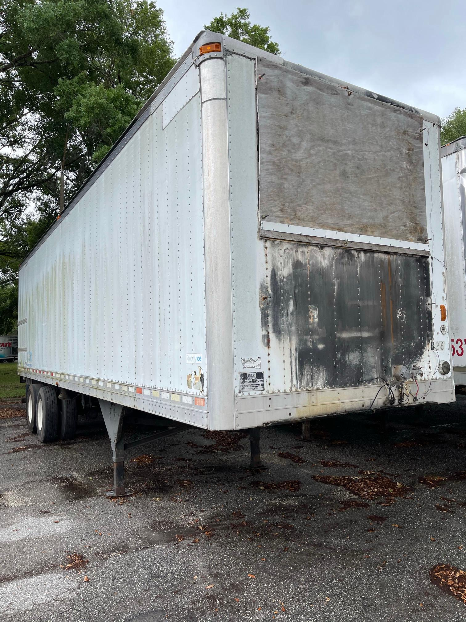Kidr salvage cars for sale: 2002 Kidr Trailer