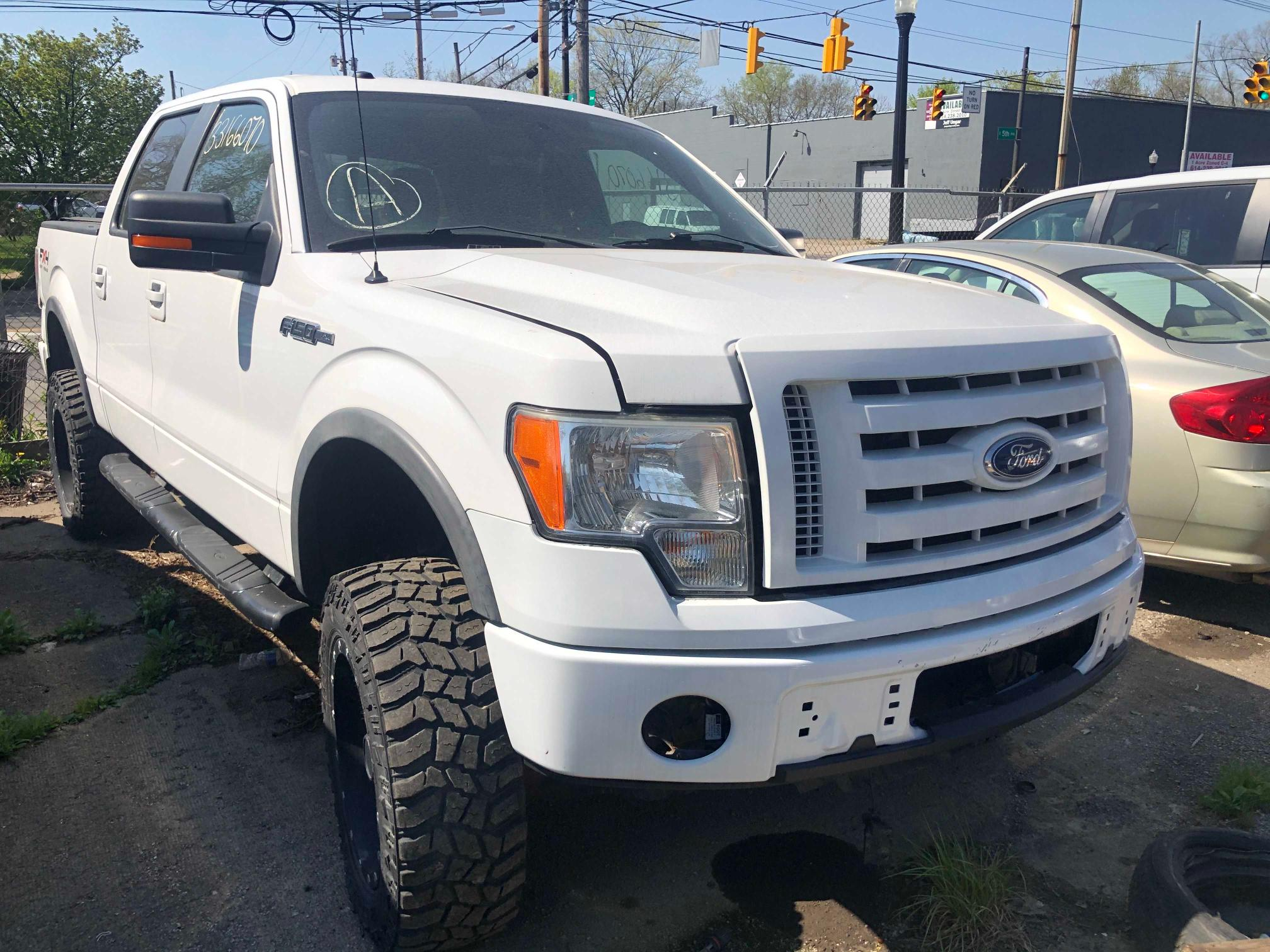 Salvage cars for sale from Copart Columbus, OH: 2010 Ford F150 Super