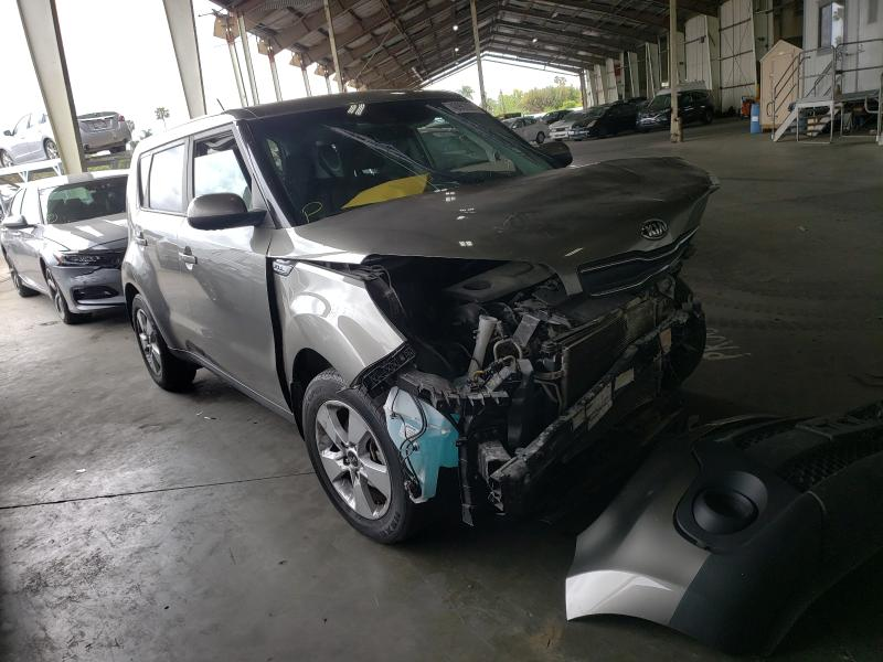 Salvage cars for sale from Copart Van Nuys, CA: 2019 KIA Soul