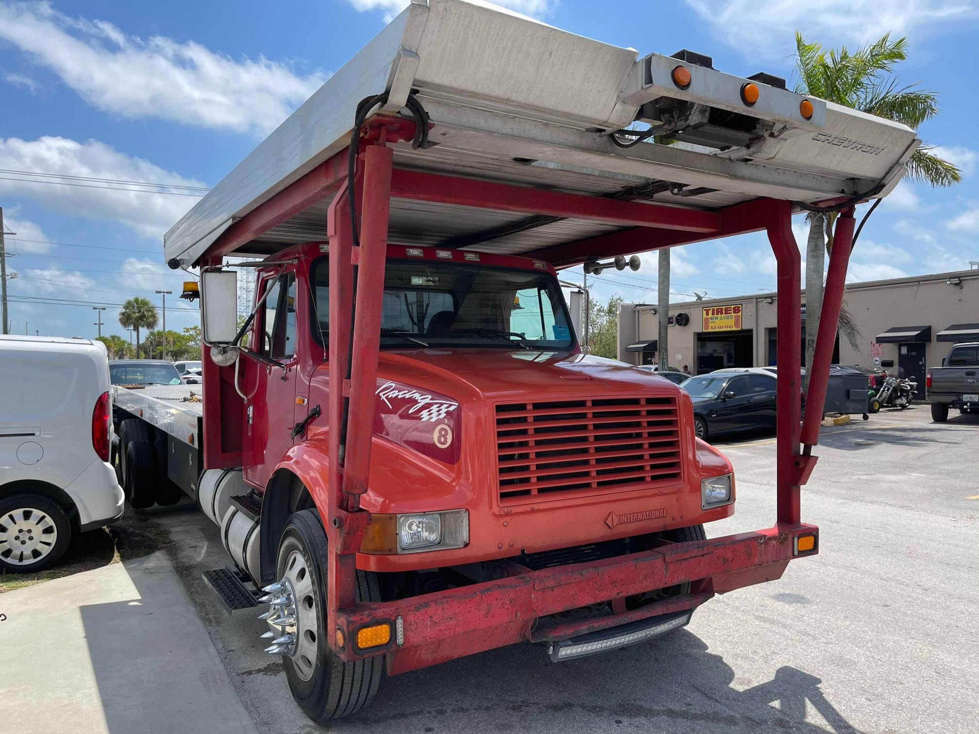 Salvage cars for sale from Copart Homestead, FL: 2001 International 4000 4900