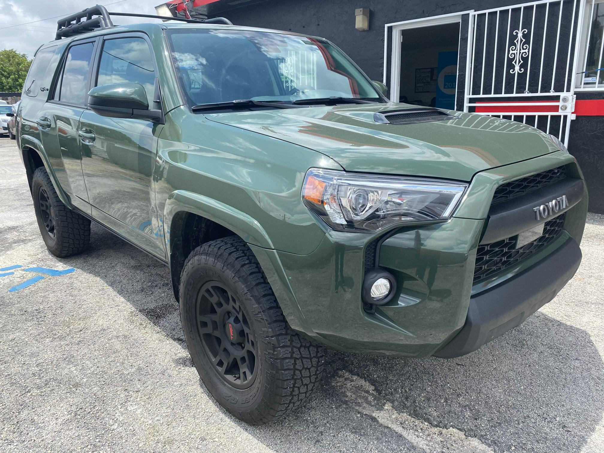Salvage cars for sale from Copart Homestead, FL: 2020 Toyota 4runner SR