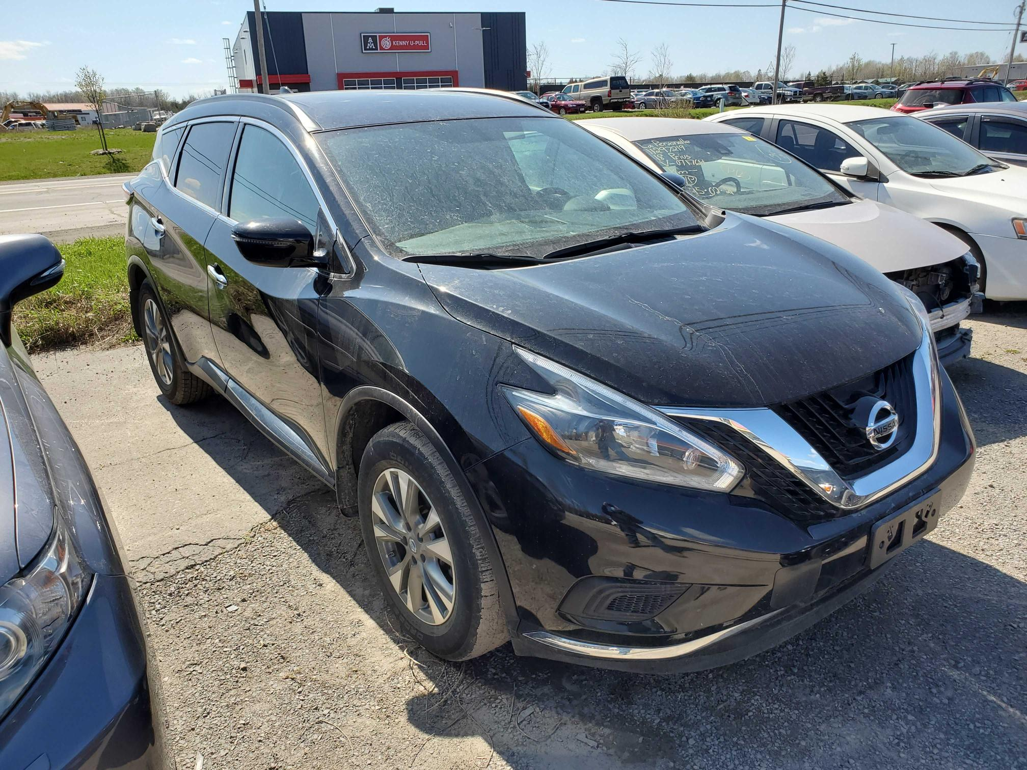 Salvage cars for sale from Copart Montreal Est, QC: 2018 Nissan Murano S