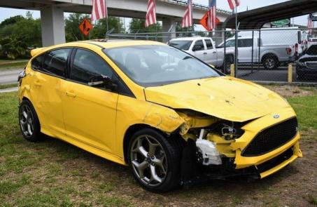 Salvage cars for sale from Copart Homestead, FL: 2018 Ford Focus ST
