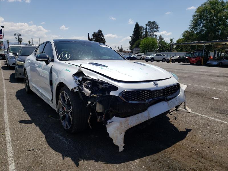 Vehiculos salvage en venta de Copart Van Nuys, CA: 2019 KIA Stinger GT