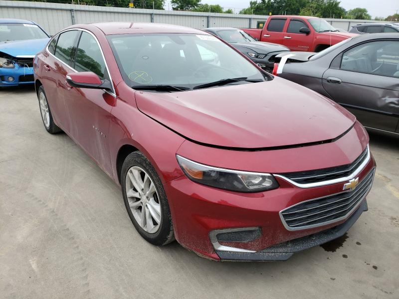 Vehiculos salvage en venta de Copart Wilmer, TX: 2018 Chevrolet Malibu LT