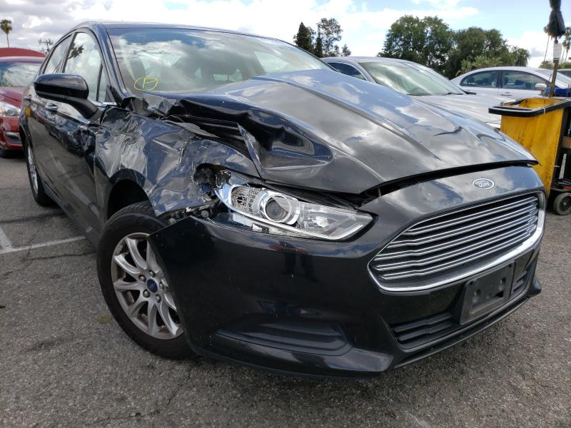 Salvage 2015 FORD FUSION - Small image. Lot 41144001