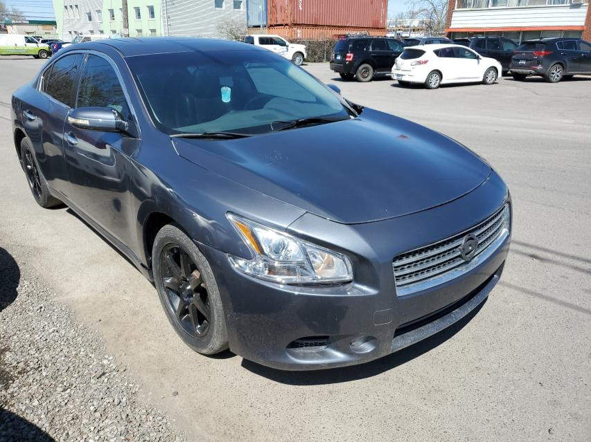 Salvage cars for sale from Copart Montreal Est, QC: 2009 Nissan Maxima S