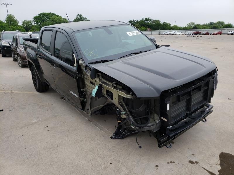 Vehiculos salvage en venta de Copart Wilmer, TX: 2021 GMC Canyon ELE