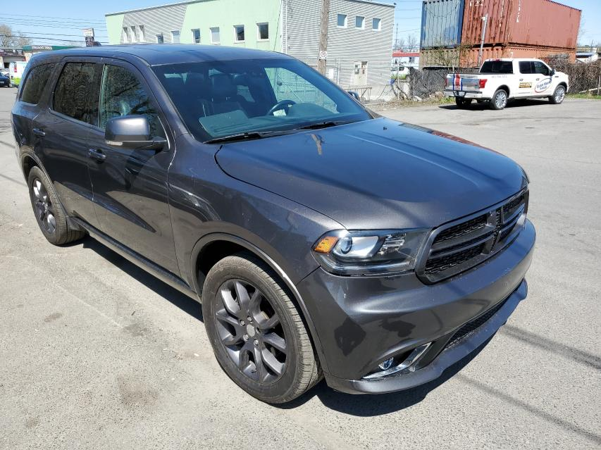 Salvage cars for sale from Copart Montreal Est, QC: 2016 Dodge Durango R