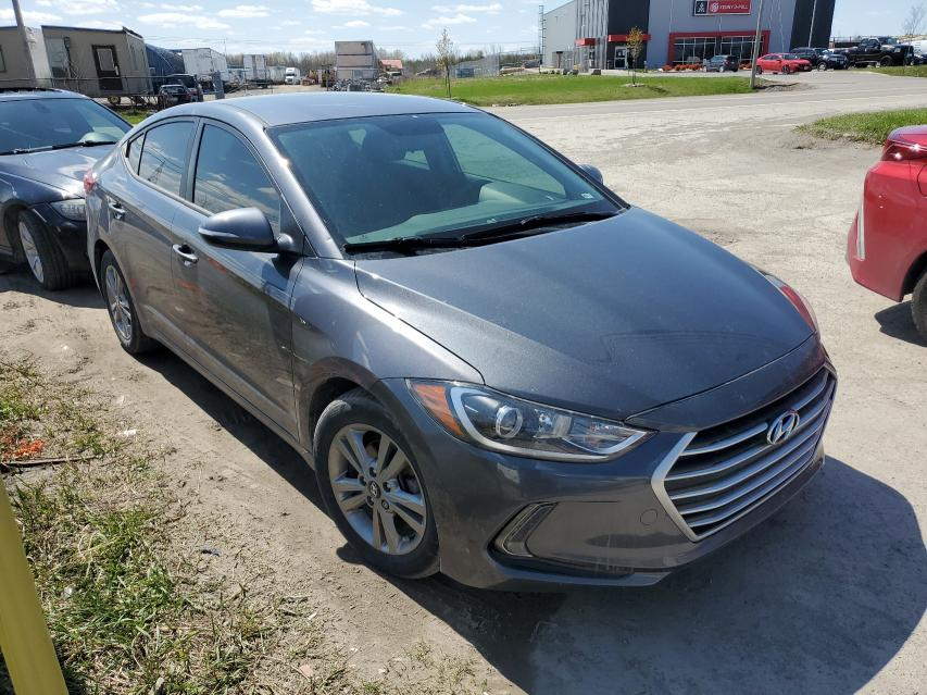 Salvage cars for sale from Copart Montreal Est, QC: 2017 Hyundai Elantra SE