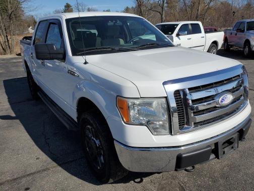 Salvage cars for sale from Copart North Billerica, MA: 2009 Ford F150 Super