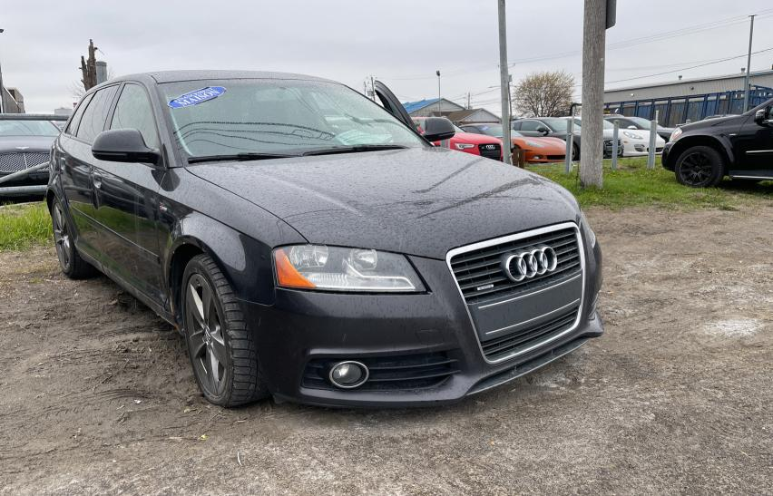 Salvage cars for sale from Copart Montreal Est, QC: 2009 Audi A3 2.0T QU
