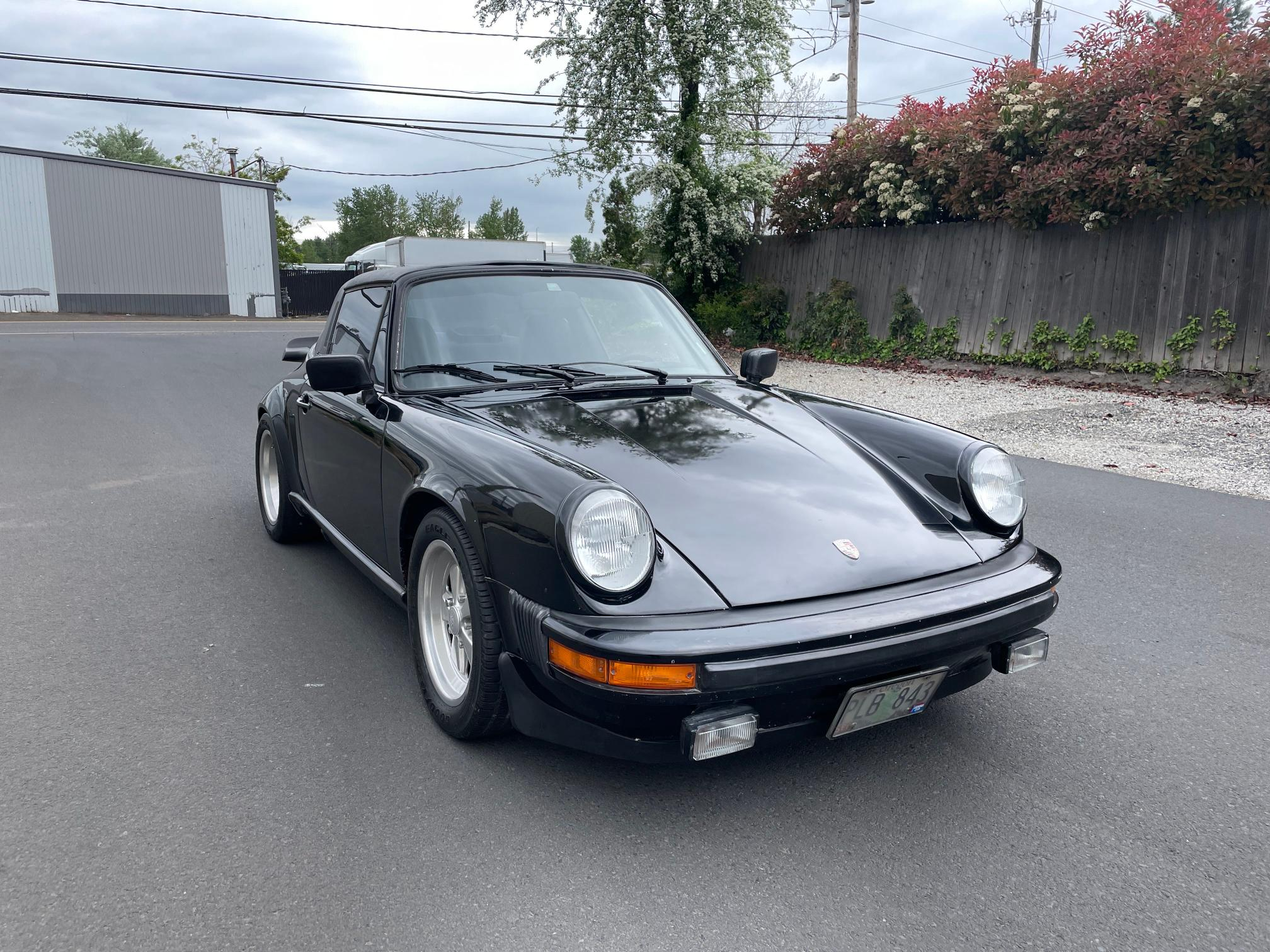 Salvage cars for sale from Copart Portland, OR: 1978 Porsche 911 SC