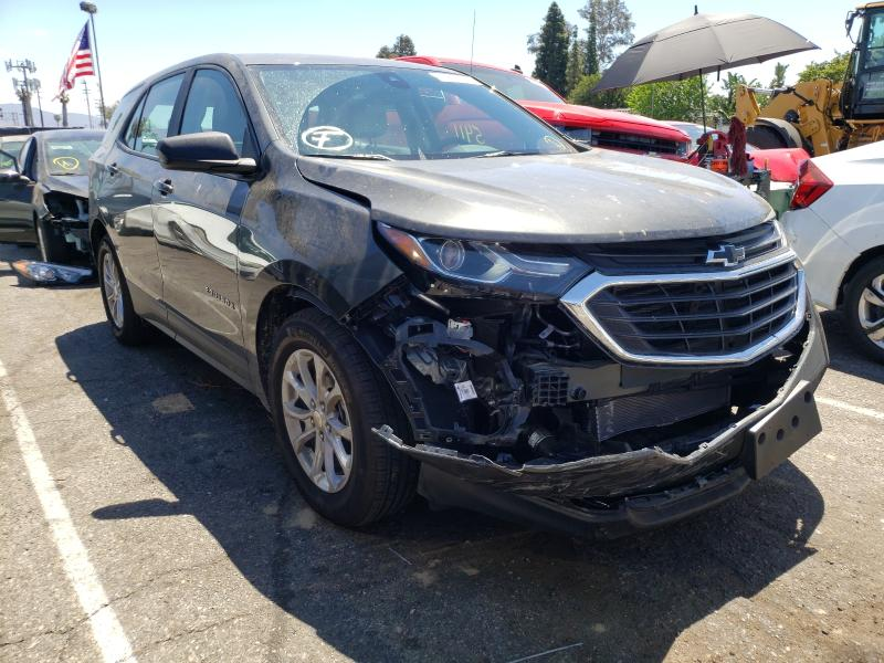 Salvage cars for sale from Copart Van Nuys, CA: 2020 Chevrolet Equinox LS