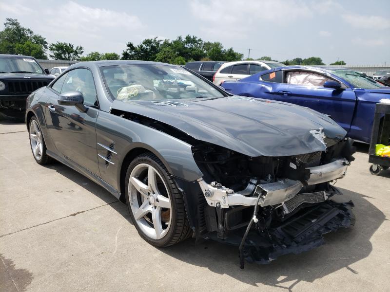 Vehiculos salvage en venta de Copart Wilmer, TX: 2013 Mercedes-Benz SL 550