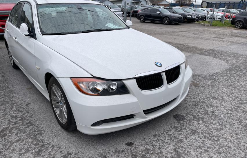 Salvage cars for sale from Copart Montreal Est, QC: 2007 BMW 328 I