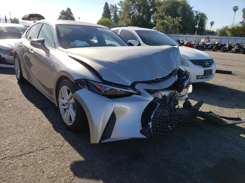 Salvage cars for sale from Copart Van Nuys, CA: 2021 Lexus IS 300