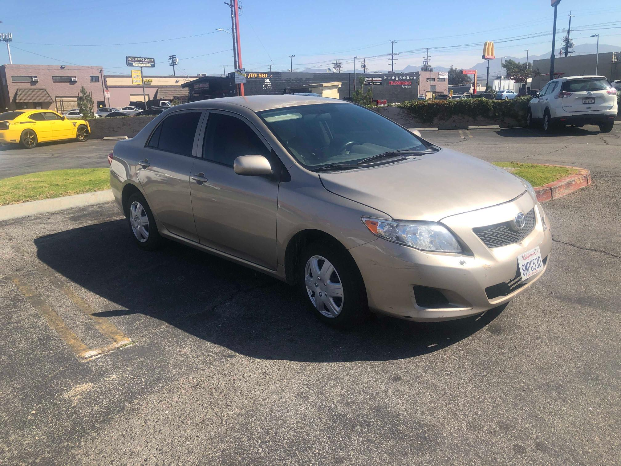 Salvage cars for sale from Copart Colton, CA: 2010 Toyota Corolla BA