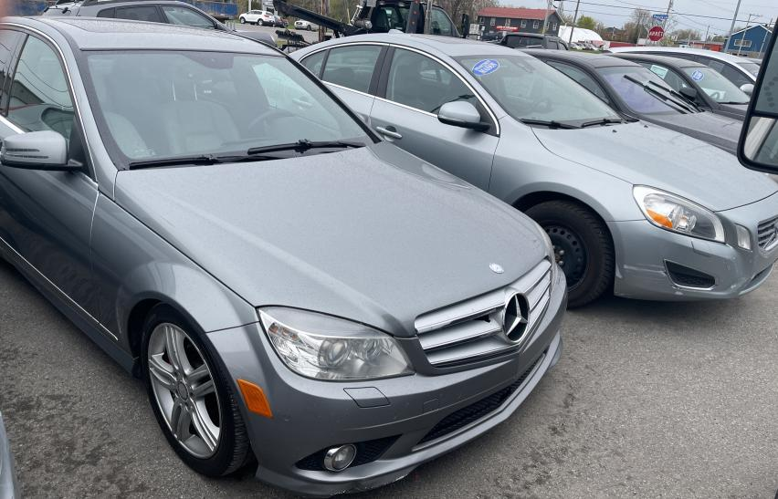 Salvage cars for sale from Copart Montreal Est, QC: 2010 Mercedes-Benz C 300 4matic