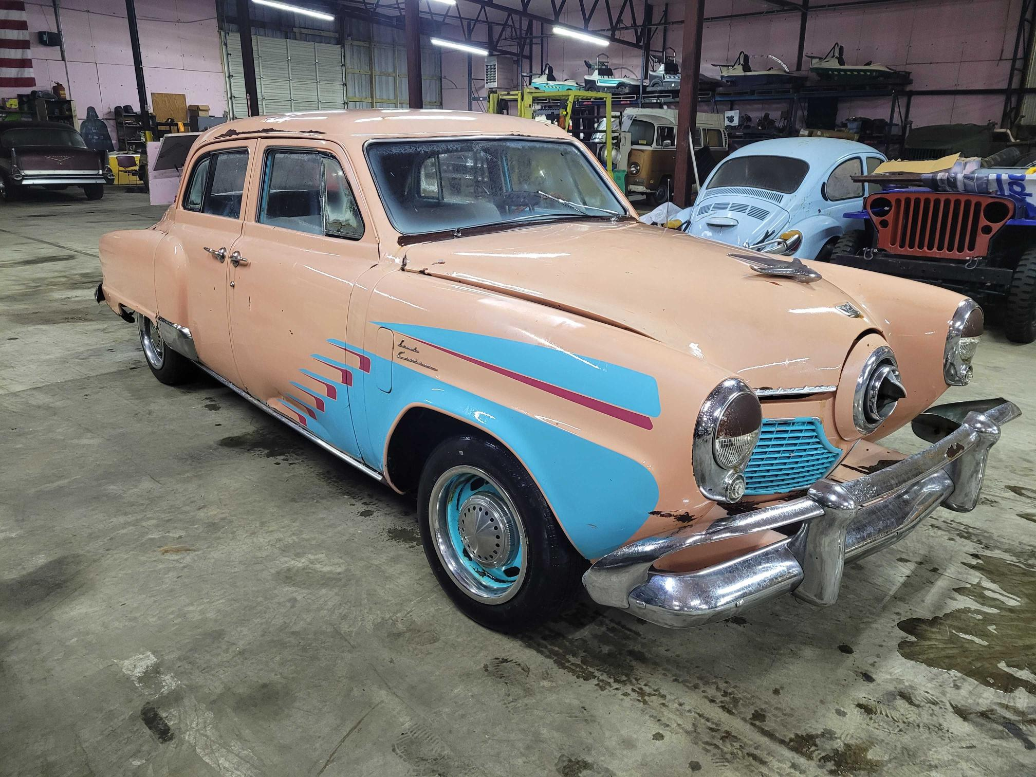 Studebaker salvage cars for sale: 1951 Studebaker Commander