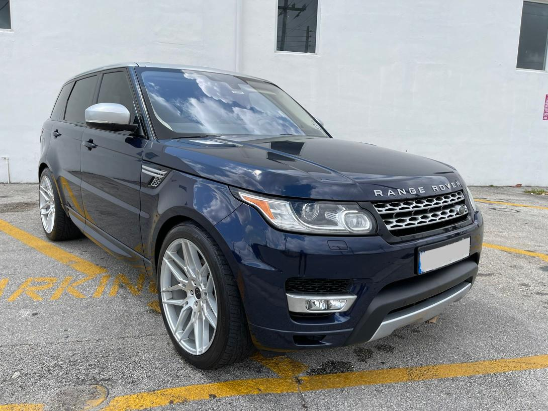 Salvage cars for sale from Copart Opa Locka, FL: 2016 Land Rover Range Rover