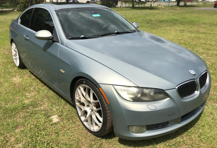 Salvage cars for sale from Copart Ocala, FL: 2007 BMW 335 I