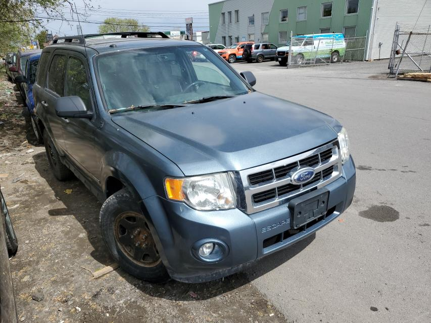 Salvage cars for sale from Copart Montreal Est, QC: 2010 Ford Escape XLT