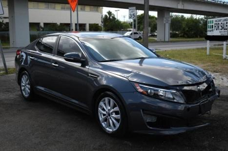 Vehiculos salvage en venta de Copart Homestead, FL: 2015 KIA Optima LX