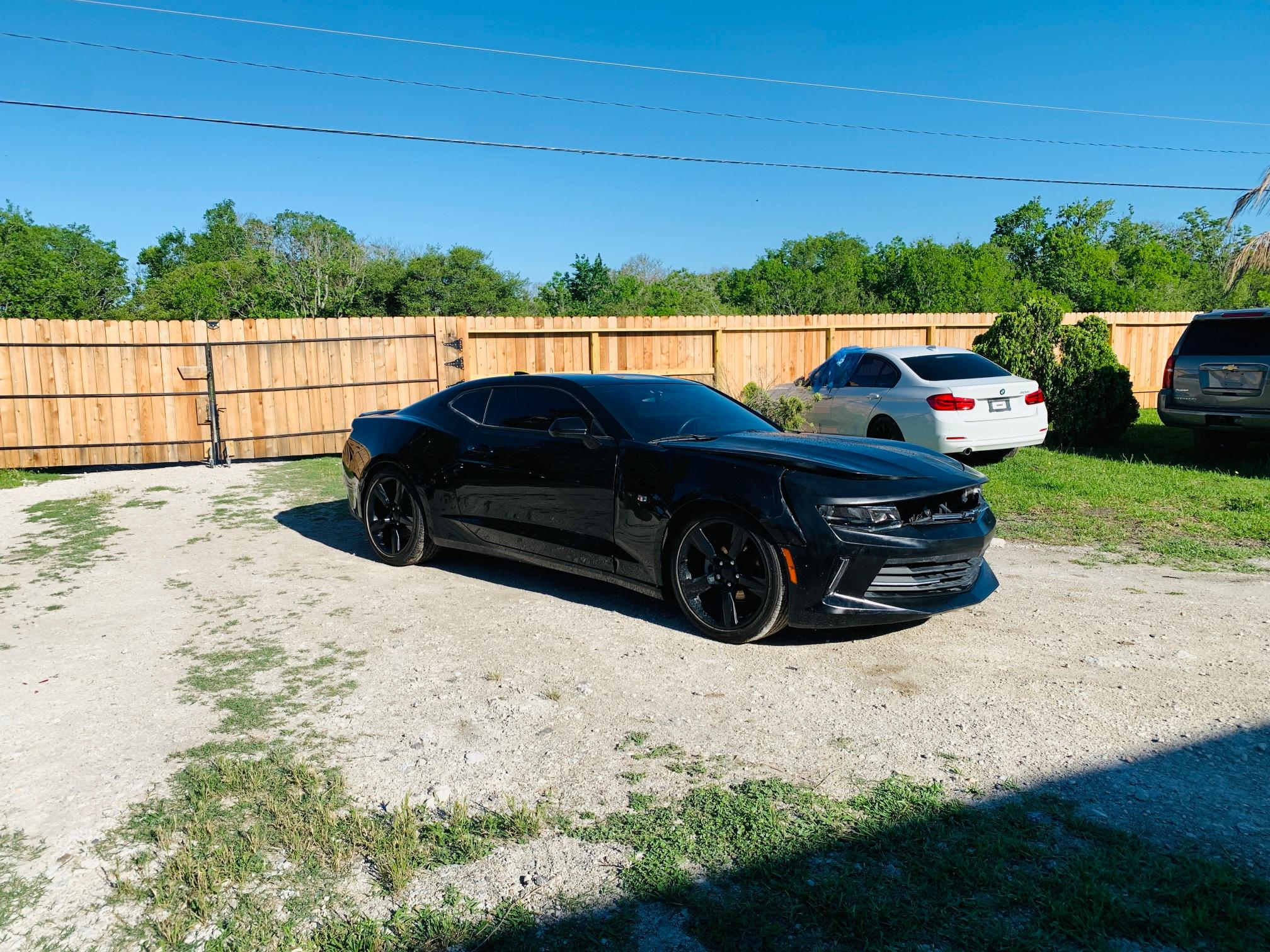 Chevrolet Camaro LT salvage cars for sale: 2018 Chevrolet Camaro LT