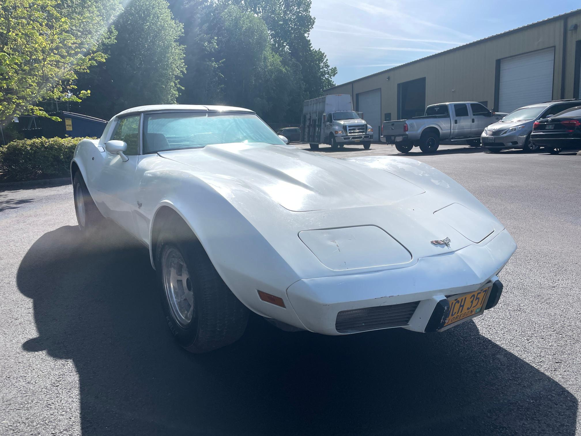 Salvage cars for sale from Copart Portland, OR: 1979 Chevrolet Corvette 3