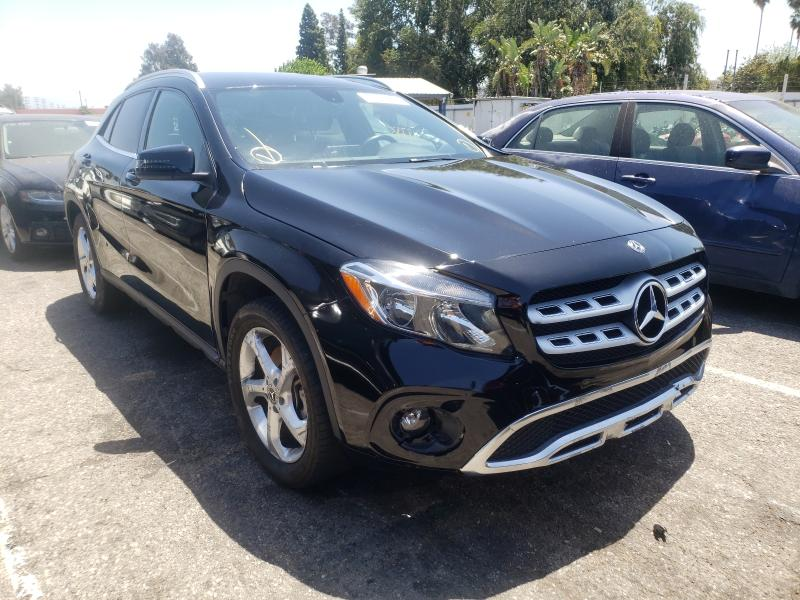 Salvage cars for sale from Copart Van Nuys, CA: 2020 Mercedes-Benz GLA 250
