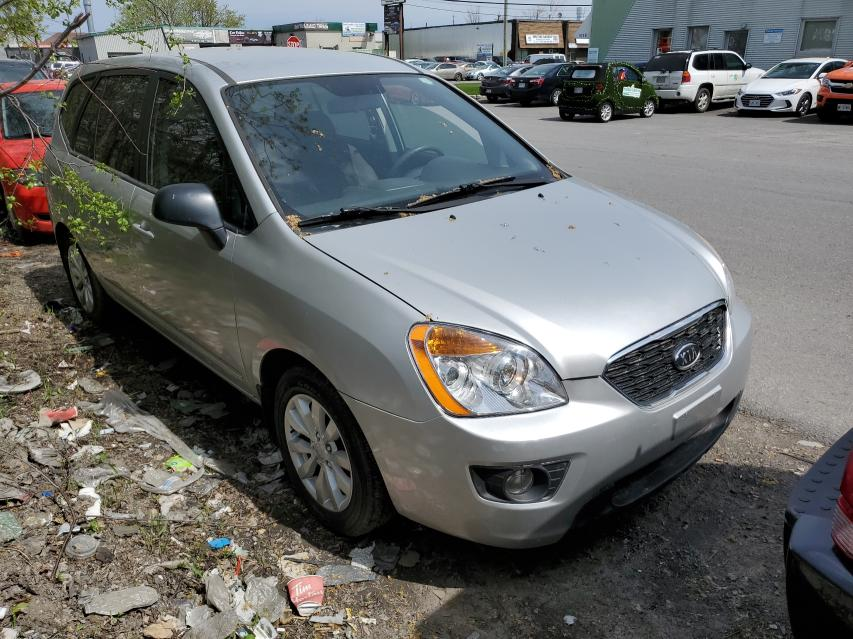 Salvage cars for sale from Copart Montreal Est, QC: 2011 KIA Rondo