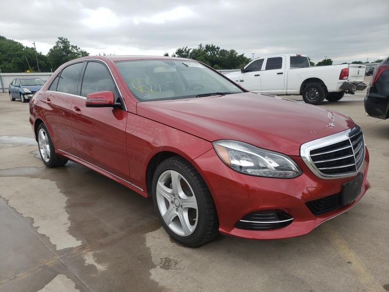Vehiculos salvage en venta de Copart Wilmer, TX: 2016 Mercedes-Benz E 350