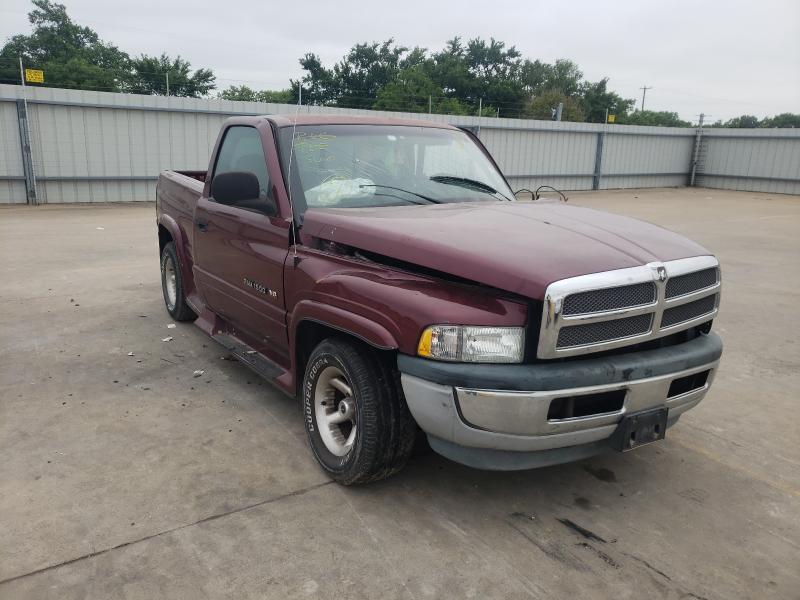 Vehiculos salvage en venta de Copart Wilmer, TX: 2001 Dodge RAM 1500