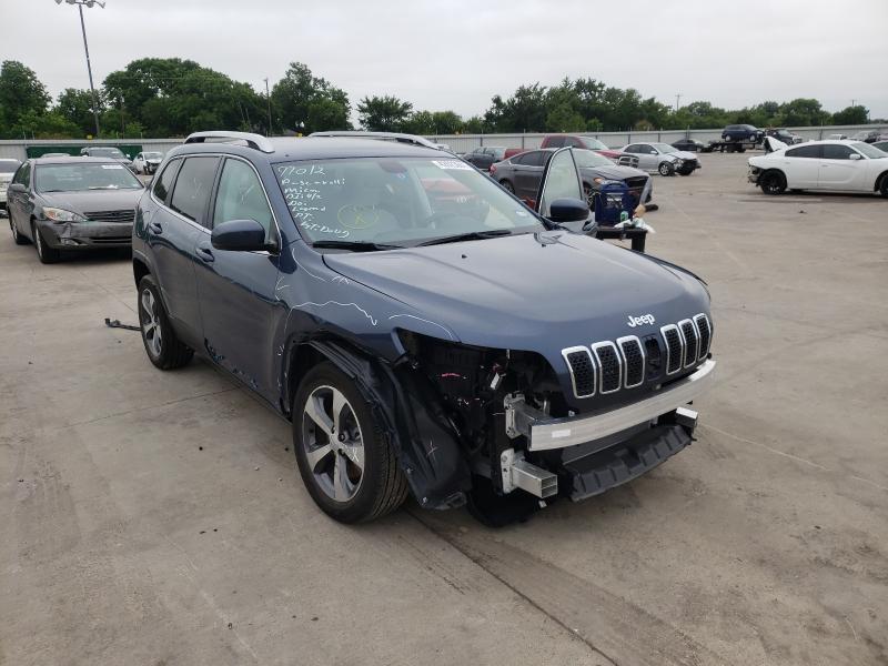 Vehiculos salvage en venta de Copart Wilmer, TX: 2020 Jeep Cherokee L