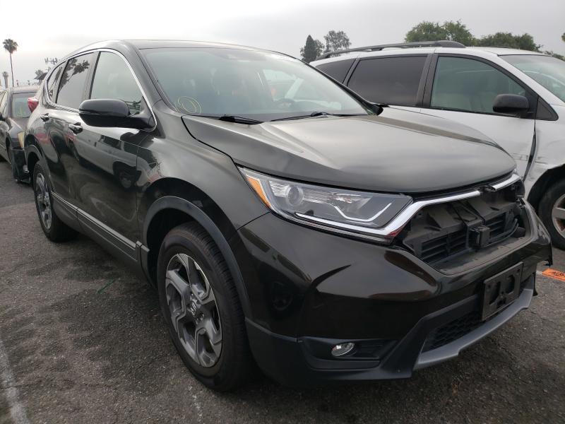 Vehiculos salvage en venta de Copart Van Nuys, CA: 2017 Honda CR-V EXL