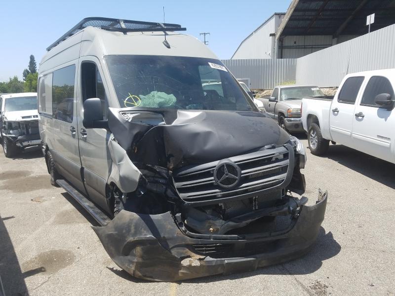 Mercedes-Benz Sprinter 2 salvage cars for sale: 2020 Mercedes-Benz Sprinter 2