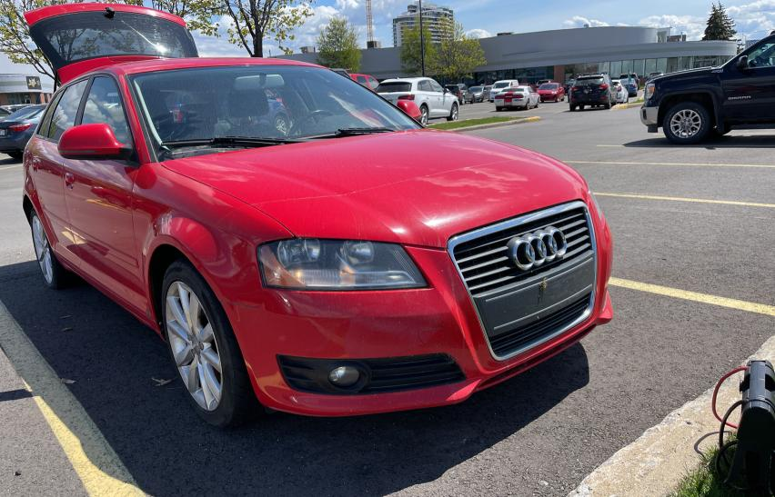 Salvage cars for sale from Copart Montreal Est, QC: 2010 Audi A3