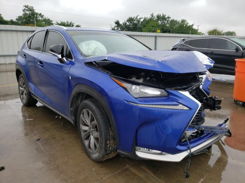 2015 Lexus NX 200T en venta en Wilmer, TX