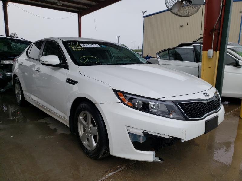 Vehiculos salvage en venta de Copart Wilmer, TX: 2015 KIA Optima LX