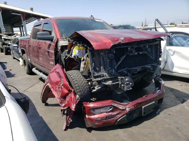 Salvage cars for sale from Copart Van Nuys, CA: 2017 GMC Sierra K15
