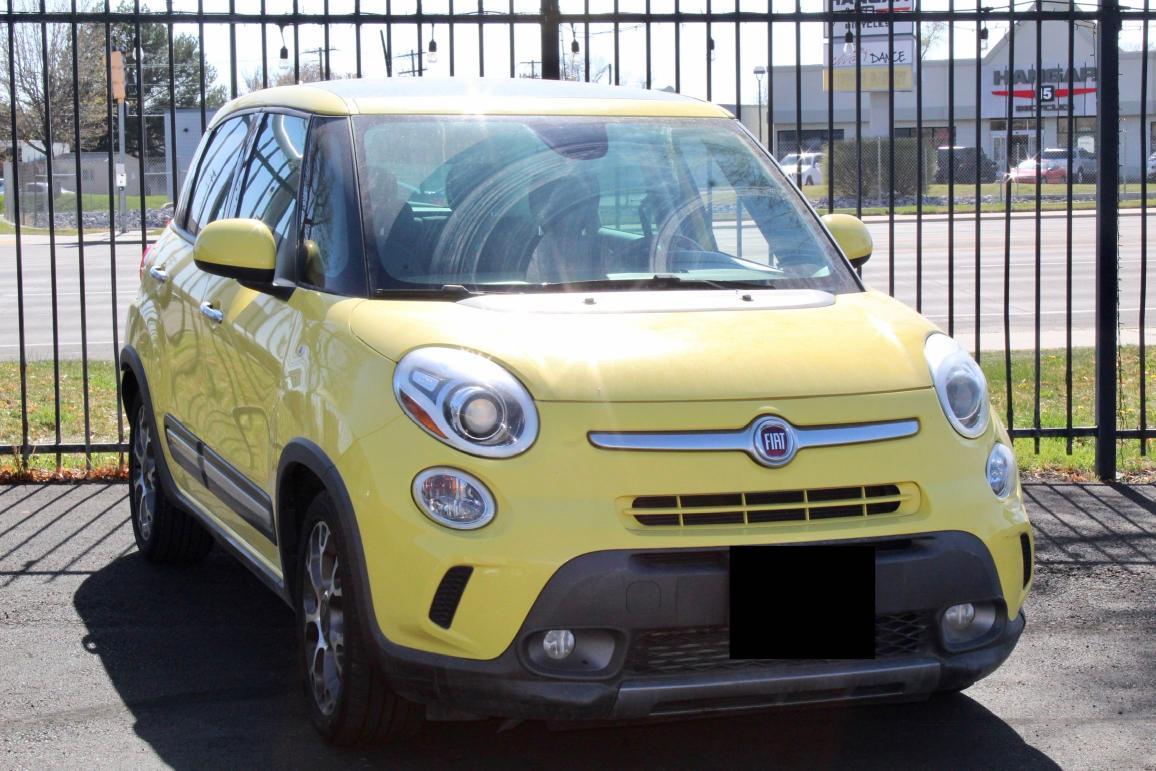 Fiat salvage cars for sale: 2014 Fiat 500L Trekk