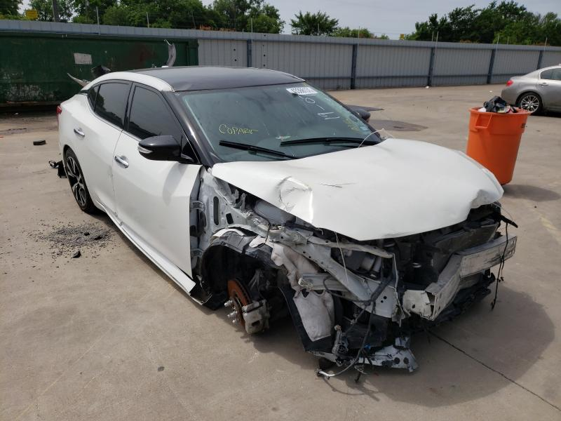 Nissan salvage cars for sale: 2018 Nissan Maxima 3.5