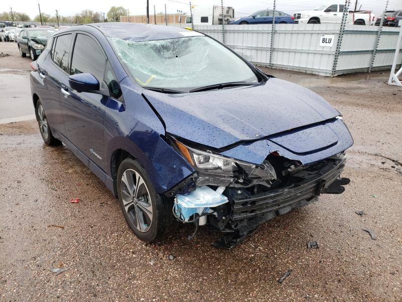 Nissan Vehiculos salvage en venta: 2019 Nissan Leaf S PLU