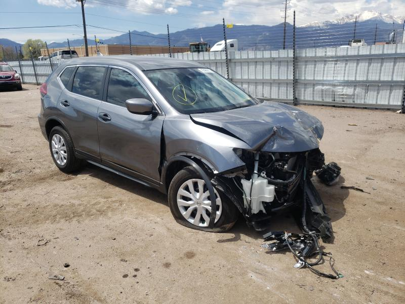 Salvage cars for sale from Copart Colorado Springs, CO: 2020 Nissan Rogue S